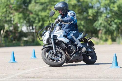 Motorrijbewijspoint Nederland motor rijtest